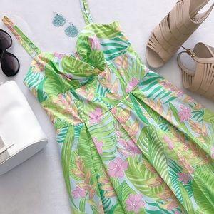 Lilly Pulitzer Botanical Garden Billie Dress 0